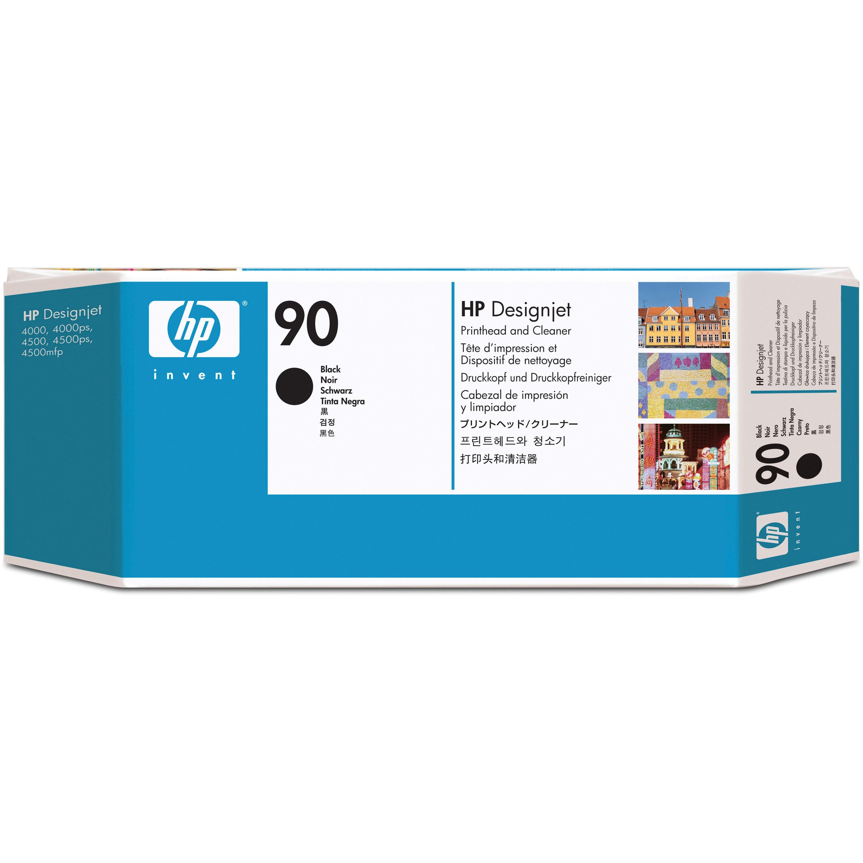 HP, HEWC5054A, C5054/55/56/57A 90 Printheads, 1 Each
