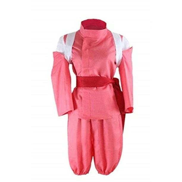 Mocona Spirited Away Cosplay Ogino Chihiro Costume Kimono Suit Red Walmart Com Walmart Com