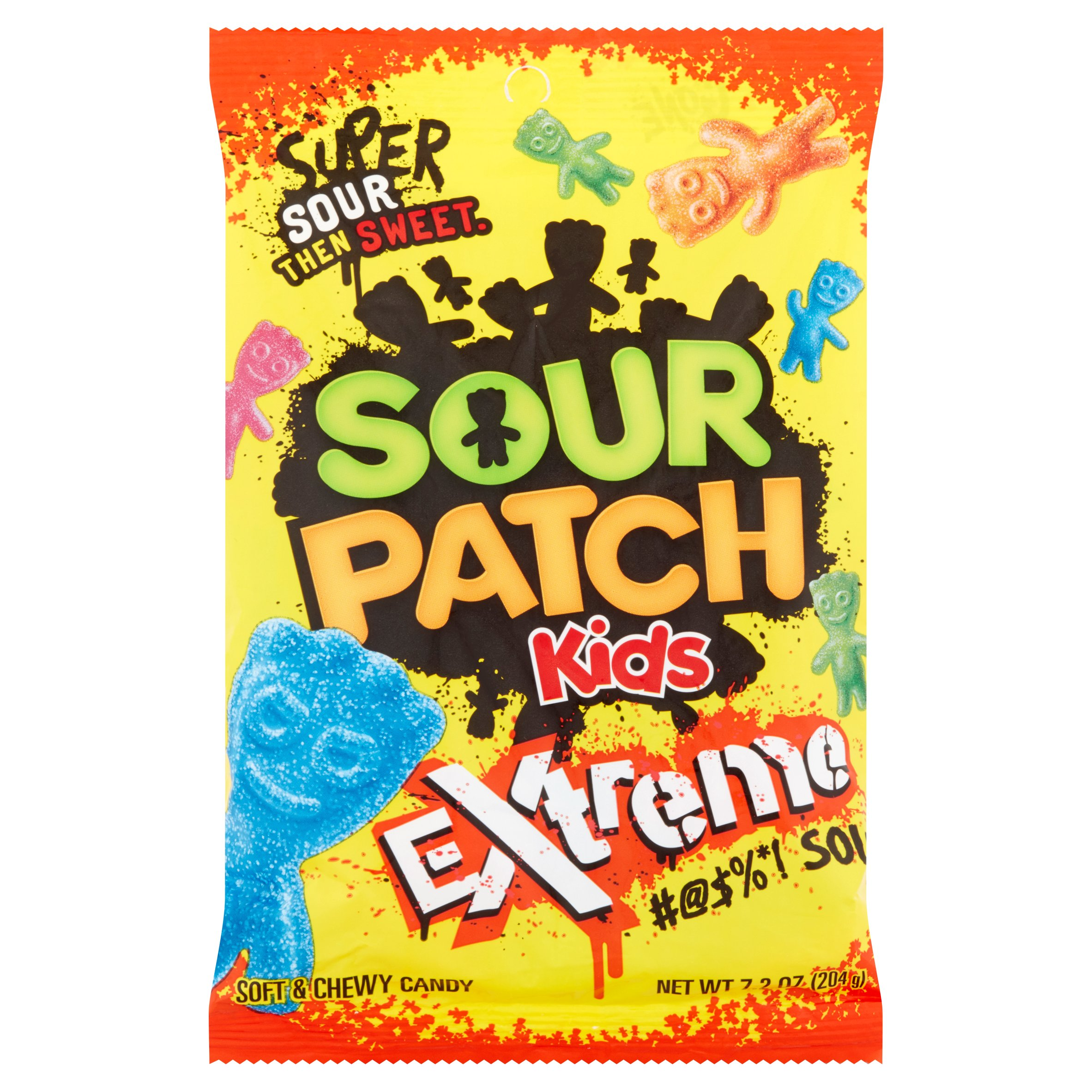 Sour Patch Kids Extreme Soft & Chewy Candies, 7.2 Oz.
