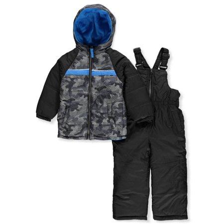 038807249 iXtreme - Camo Puffer Jacket Coat   Snowpants Ski Bib