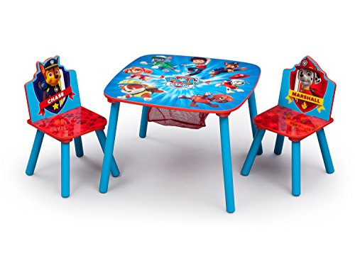 Paw Patrol Toddler Table and Chair Set with Storage  sc 1 st  Walmart & Paw Patrol Toddler Table and Chair Set with Storage - Walmart.com