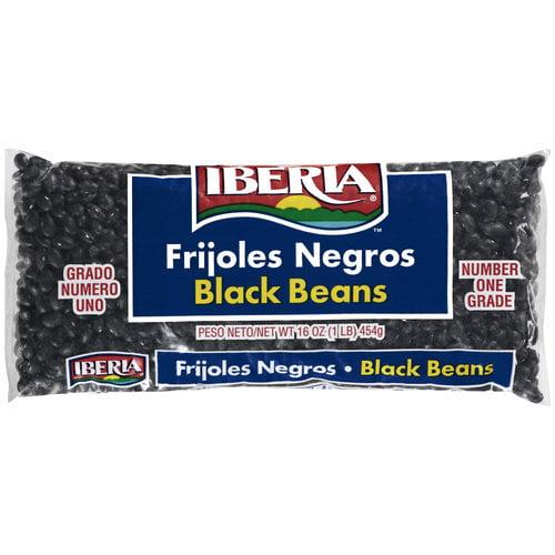 Iberia Black Beans, 16 oz