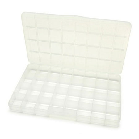 Darice No Spill Plastic Organizer, 32 Compartments