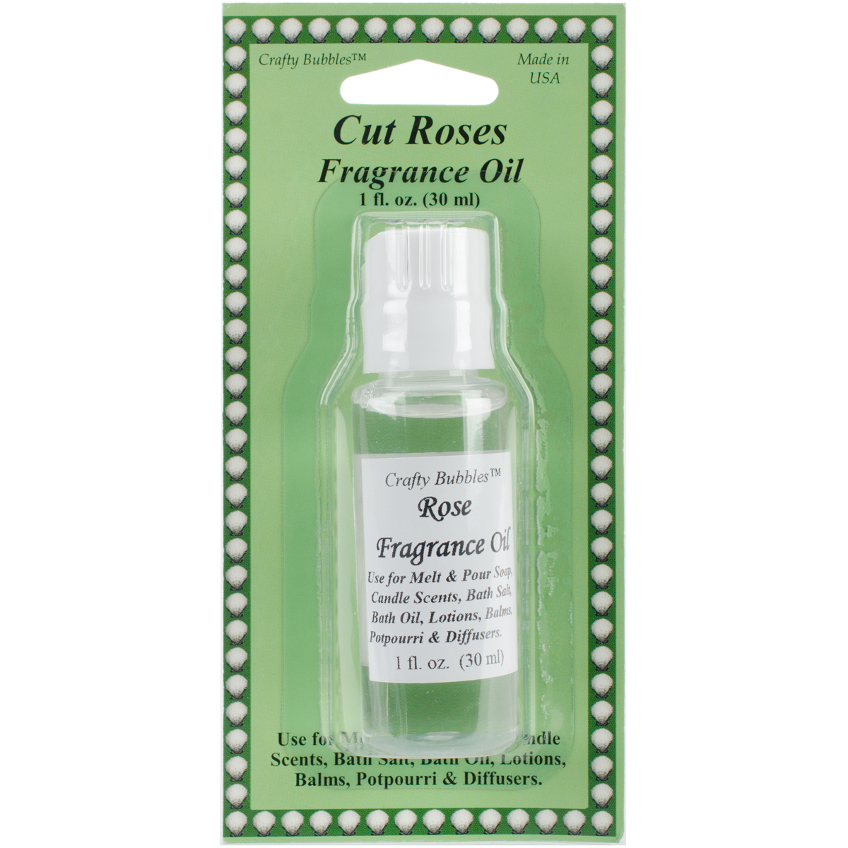 Bolek's Crafty Bubbles Fragrance Oil, Rose, 0.5 Fl Oz