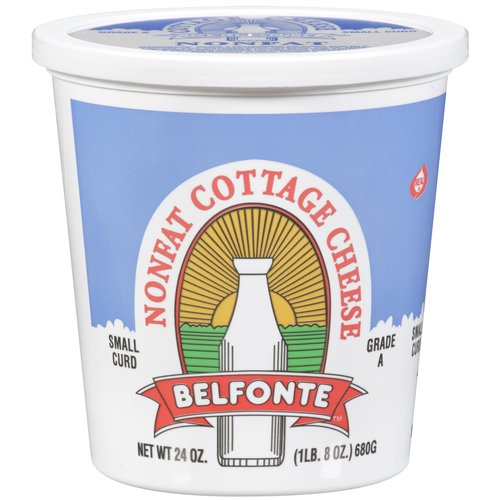Belfonte Nonfat Small Curd Cottage Cheese, 24 oz