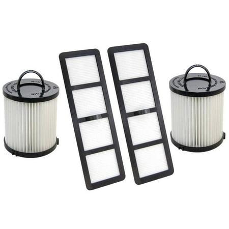 (2 Filter Bundles) DCF21 & EF6 HEPA Exhaust Filter for EUREKA Airspeed Vacuum
