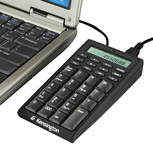 Kensington K72274US Notebook Keypad/Calculator with USB Hub - PC & MAC Compatible