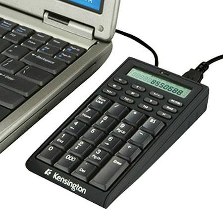 Kensington K72274US Notebook Keypad Calculator with USB Hub PC & MAC Compatible by