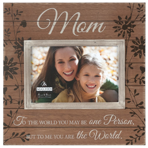 Malden Mom Sunwashed Picture Frame