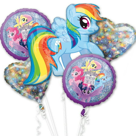 Little Pony Balloon Bouquet - My Little Pony Balloons
