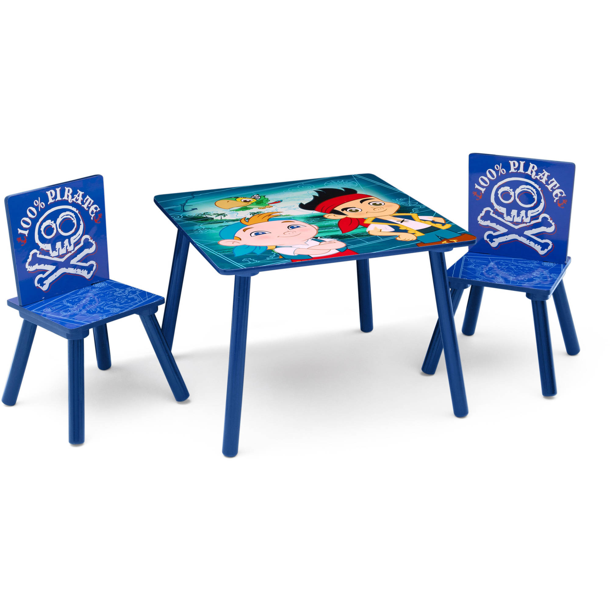 Delta Children Disney Jr Jake and The NeverLand Pirates Table and Chair Set  sc 1 st  Walmart.com & Delta Children Disney Jr Jake and The NeverLand Pirates Table and ...
