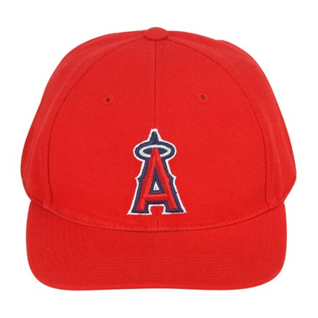 Vintage Anaheim Angels Adjustable Snapback Hat Cap - Red