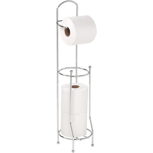 Bath Bliss Chrome Toilet Paper Holder and Dispenser Walmartcom