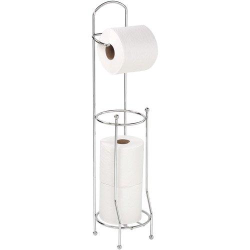 bath bliss chrome toilet paper holder and dispenser. Black Bedroom Furniture Sets. Home Design Ideas