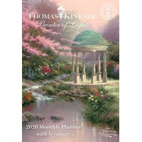 Thomas Kinkade Painter of Light with Scripture 2020 Monthly Pocket Planner Calen (Other)
