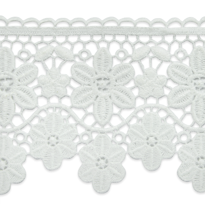 "Expo Int'l 5 yards of Candace 3 3/4"" Daisy Chain Lace Trim"