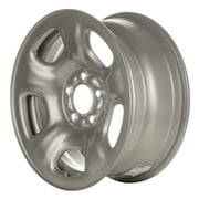 16 X 7 Reconditioned OEM Steel Wheel, Silver, Fits 2002-2007 Jeep Liberty