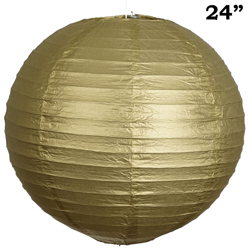 """BalsaCircle 12 pack 24"""" Paper Lanterns Lamp Shades Party Supplies - Party Wedding Event Home Room Decorations Supplies"""