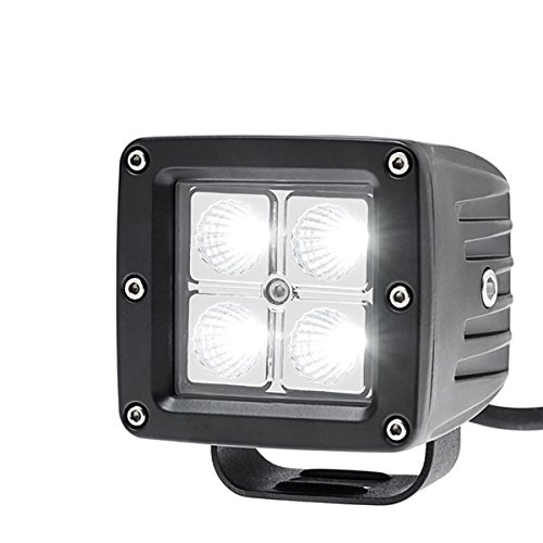 Race Sport 3x3 Hd 4 Led Quad Spot Light 20w/1,550lm - 4 Led - Durable (rs-hd20w-3x3s)