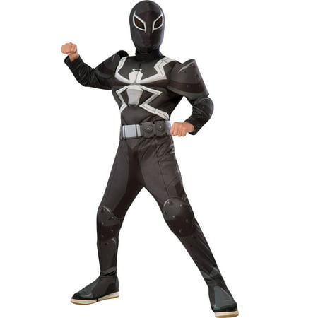 Marvel Deluxe Venom Costume for Kids - Spiderman Venom Halloween Costume
