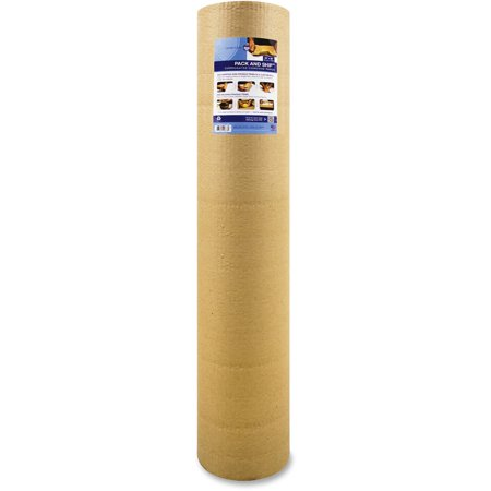 Sparco, SPR74965, Cohesive Corrugated Wrap, 1 Roll, Kraft