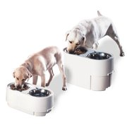 Pet Zone Store-N-Feed Pet Feeder (storage 15lbs., bowls 6.95 cups)
