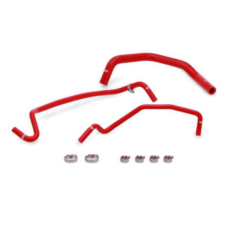 Mishimoto 15+ Ford Mustang GT Red Silicone Ancillary Hose Kit