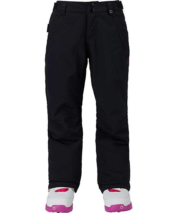 Burton Kids Girls Sweetart Snow Pants True Black Size Medium