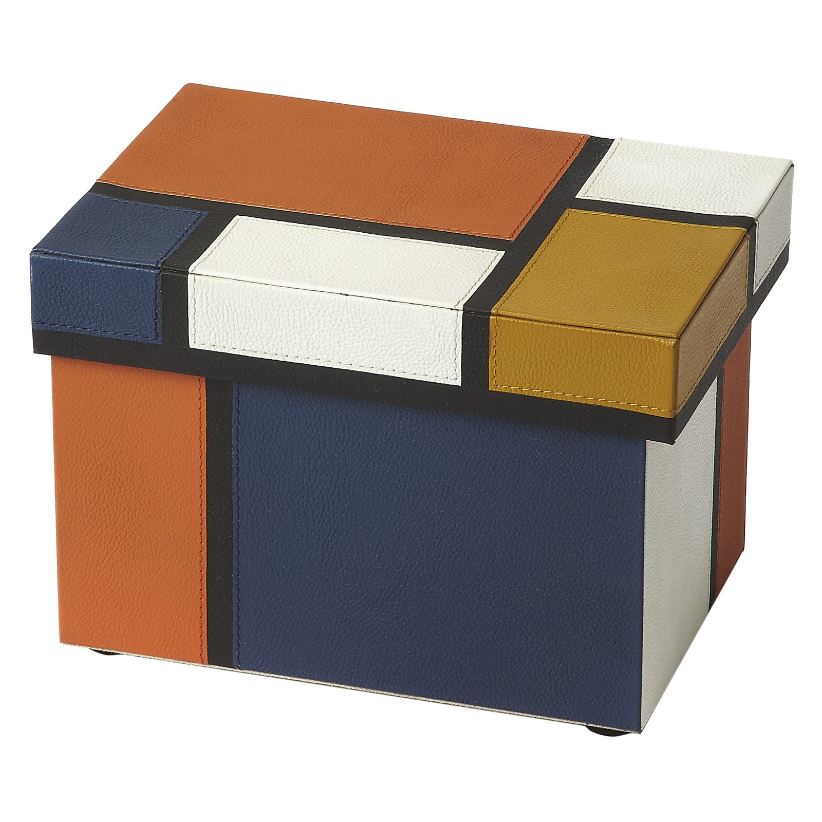 Butler Specialty Mosaic Leather Storage Box