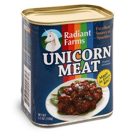Canned Pratical Joke Unicorn Meat