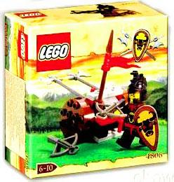 Knights Kingdom Axe Cart Set LEGO 4806 (Lego Knights Kingdom Santis)