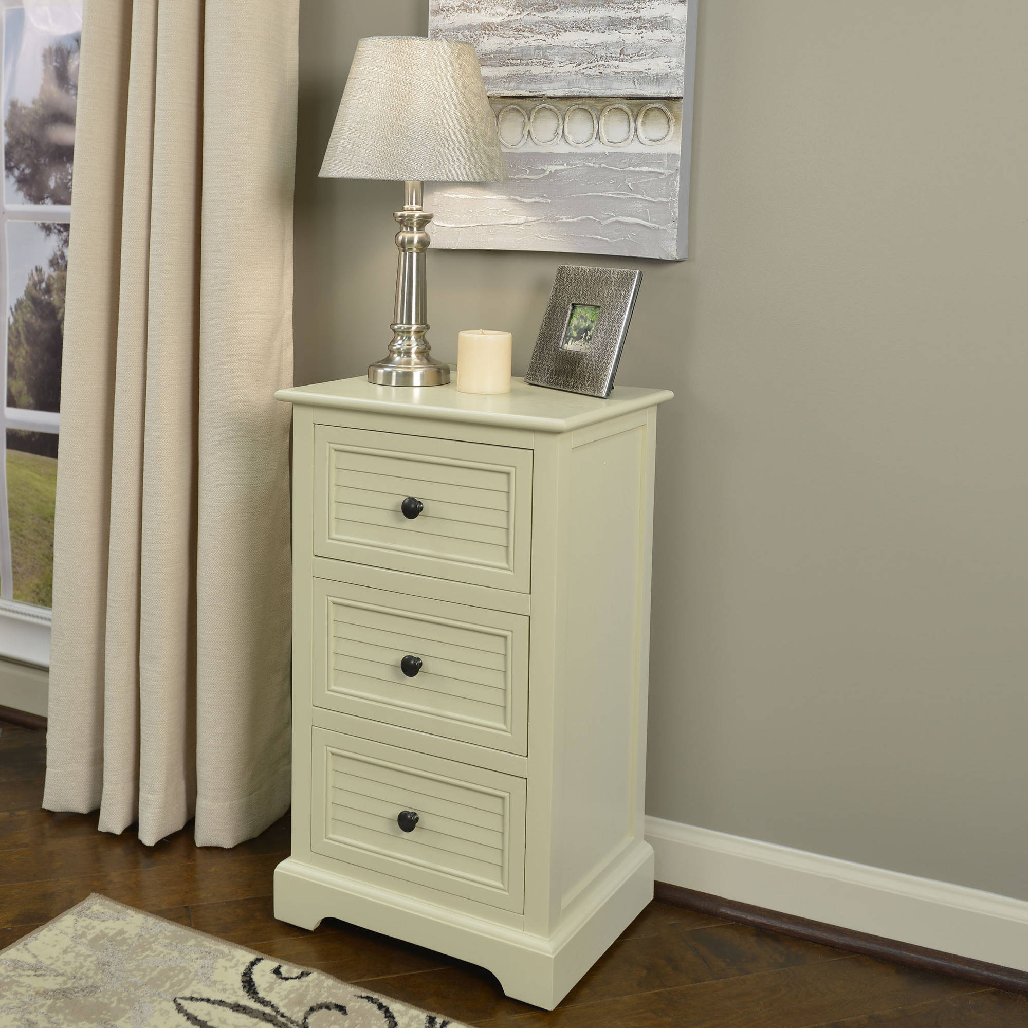 Better Homes And Gardens Shutter 3 Drawer Accent Table Multiple Colors Ebay