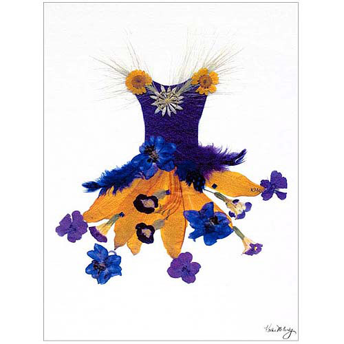 """Trademark Art """"Thumbelina Butterfly Petticoat"""" Canvas Art by Kathie McCurdy, 18x24"""