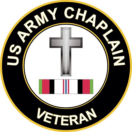 Army Christian Chaplain Afghanistan 10 Inch Decal