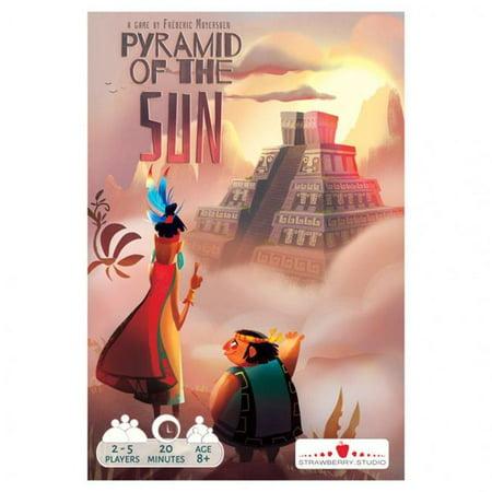 Strawberry Pyramid of The Sun Card - Strawberry Pyramid