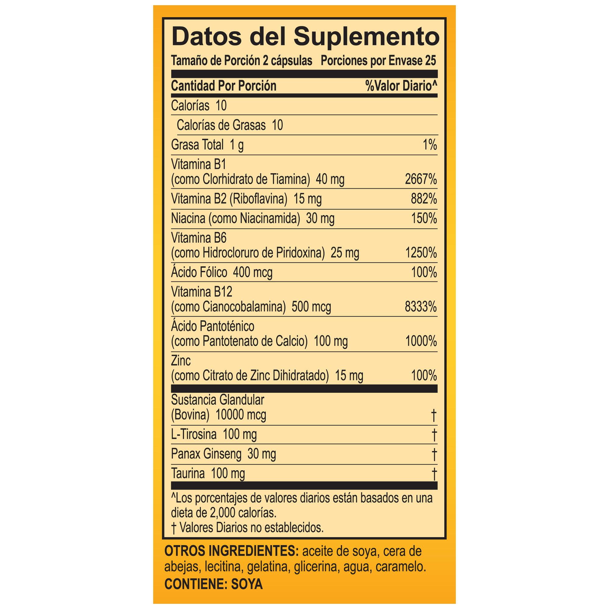 vitaminas fértiles para hombres walmart