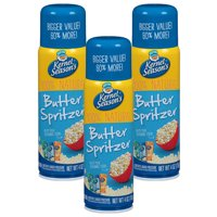 (3 Pack) Kernel Season's 100% Natural Butter Spritzer, 4 oz