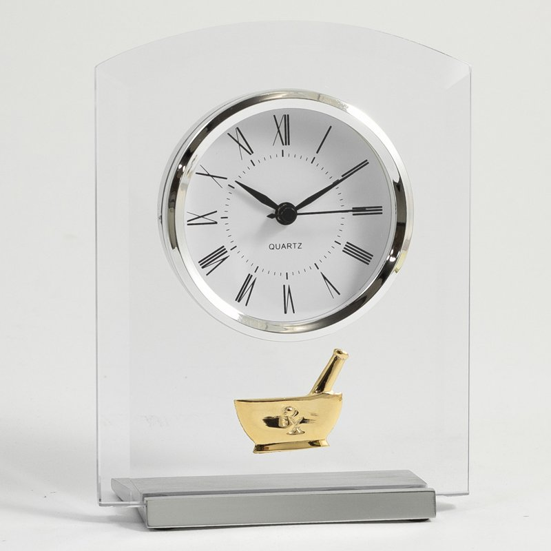Bey-Berk Pharmacy Desktop Clock