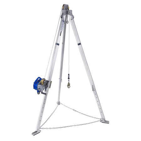 DBI Sala 8301031 7' Aluminum Tripod with 50' Stainless Steel Wire (Dbi Sala Rope)