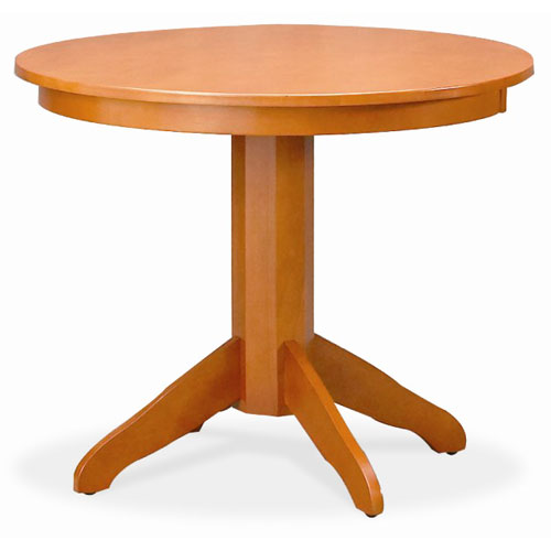 Zoe Pedestal Table, Cherry (Table Top)