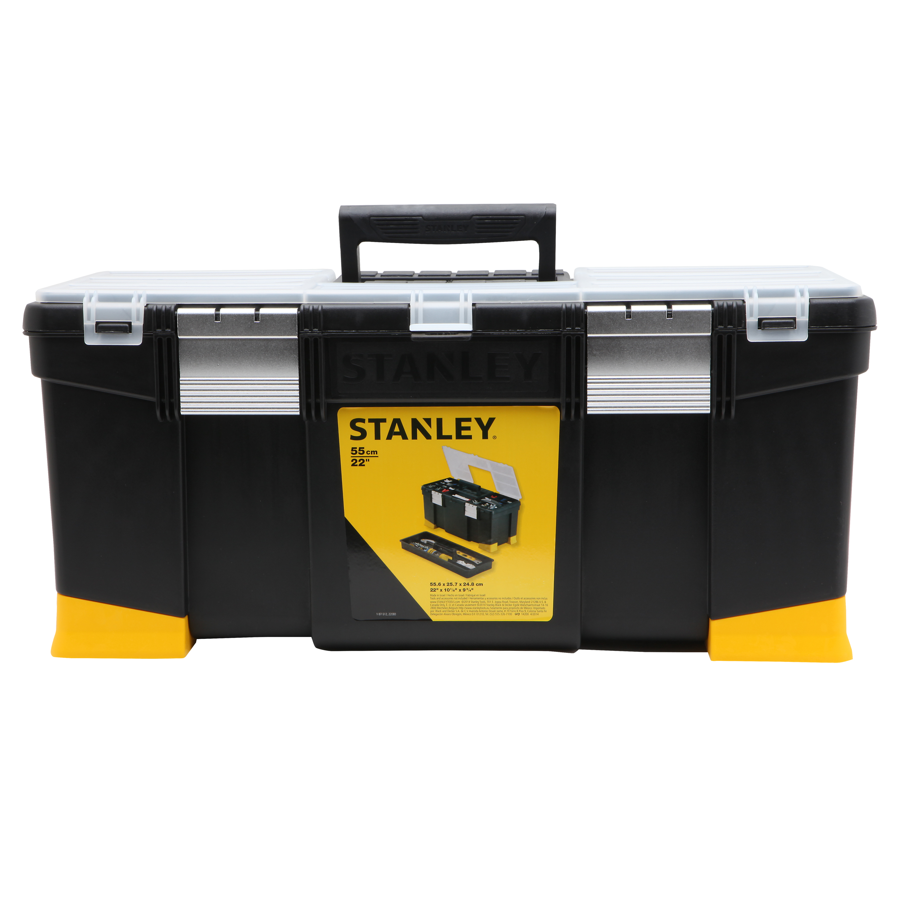 """STANLEY STST22080 22"""" Power Latch Toolbox"""