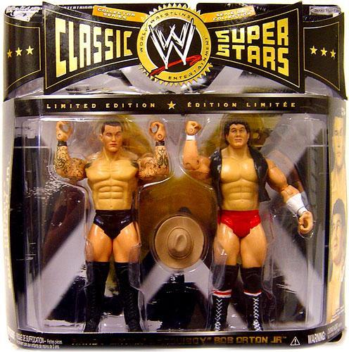 WWE Wrestling Classic Superstars Limited Editions Randy Orton & Cowboy Bob Orton Jr. Action Figure 2-Pack