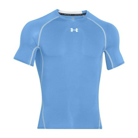 Men's UA Heatgear Armour Compression Shirt - Carolina Blue,