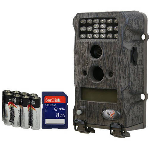 WildGame Innovation New Micro T Series 7MP Game Camera Bundle with SD Card and Batteries Included