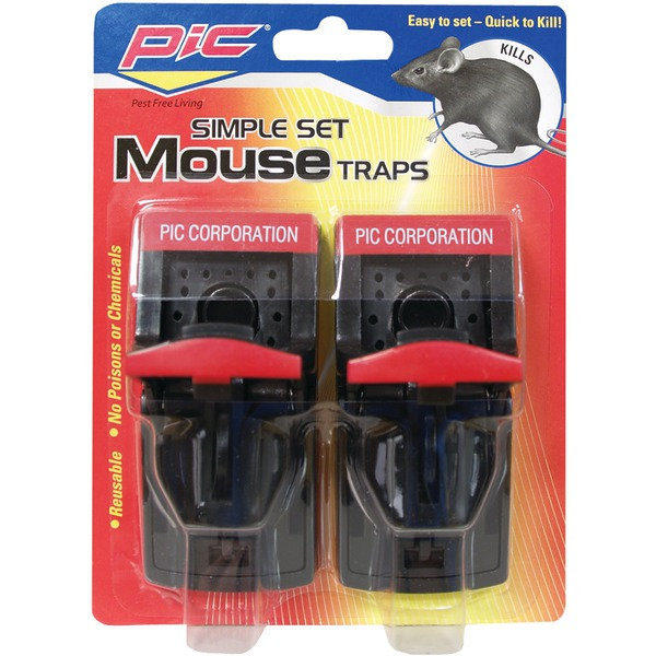 PIC SIMPLE MOUSE TRAP