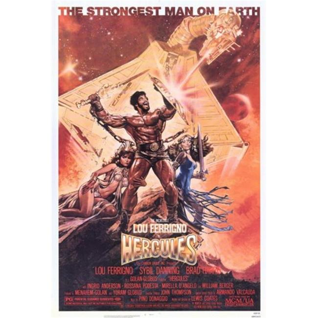 Posterazzi MOV221114 Hercules Movie Poster - 11 x 17 in. - image 1 of 1