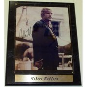 Robert Redford 8X10 Inch Butch Cassidy Photo With A 10. 5 X 13 Inch Wood Wall Plaque