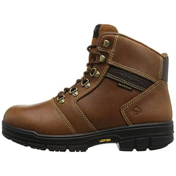 b06ecdf94d6 Wolverine Men's Barkley 6 Inch Waterproof Work Boot, Brown, 10 M US