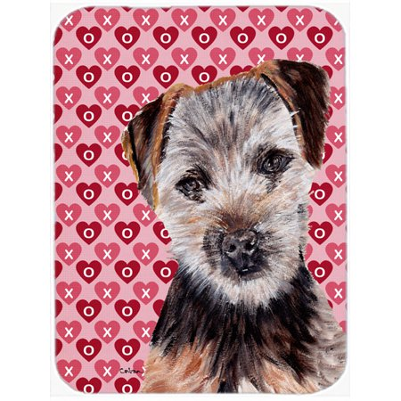 Norfolk Terrier Puppy Hearts and Love Mouse Pad, Hot Pad or Trivet SC9711MP