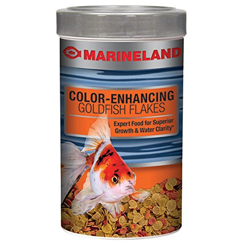 Marineland Color-Enhancing Goldfish Fish Food Flakes